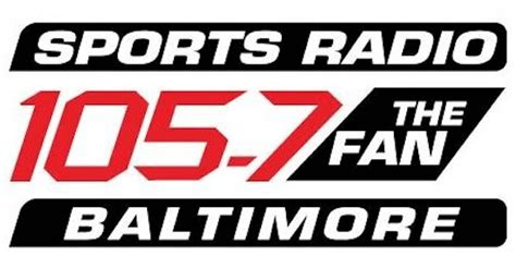 105 7 fm the fan 105 7 the fan baltimore sets new lineup radioinsight