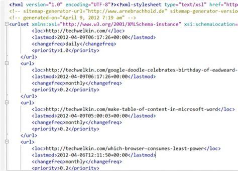 tutorial xml sitemap all about sitemap