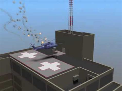 Lu Stop Rxk Spectrum Merah 3d animation of spectrum health butterworth helicopter crash in grand rapids