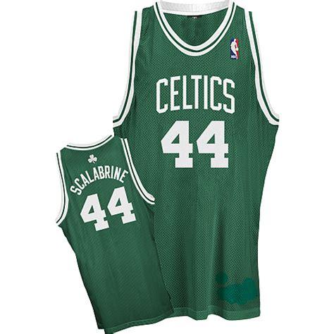 Jersey Celtics Away 20152016 nba jerseys boston celtics 44 brian scalabrine white jerseys nflfactory