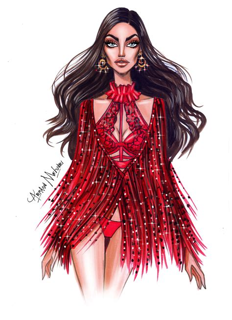 s secret fashion illustration irina shayk by armand mehidri my favorite look