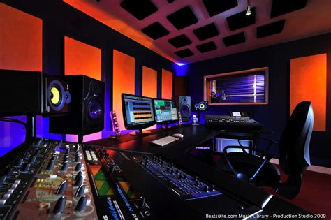 Dj Producer Desk 490632 Recording Studio Wallpapers