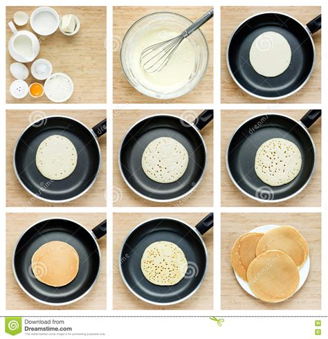 steps on how to a how to cook pancakes step by step