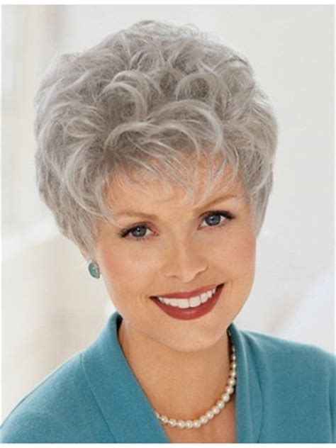 grey wigs for women over 70 ladies short curly grey wig ladies grey hair wigs p4