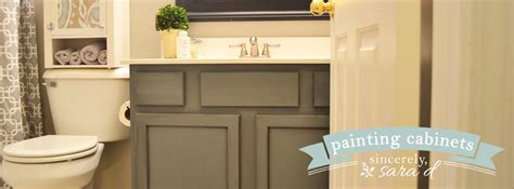 how do you paint bathroom cabinets painting cabinets with chalk paint sincerely d