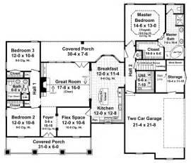 1800 Sq Ft Ranch House Plans 1800 Square Foot Ranch House Plans Smalltowndjs Com