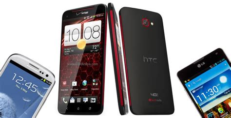 most powerful android phone htc droid dna takes on the android competition