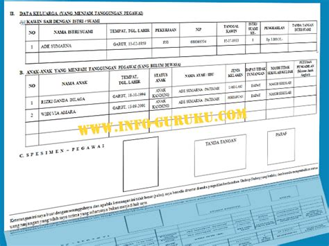 contoh formulir skumptk plus cover lengkap dengan persyaratannya info