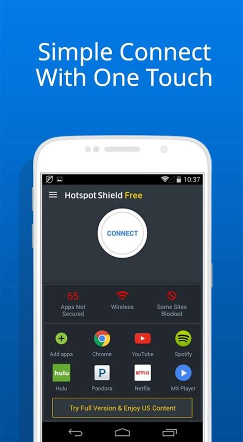 hotspot shield android hotspot shield basic free vpn proxy privacy android apps on play