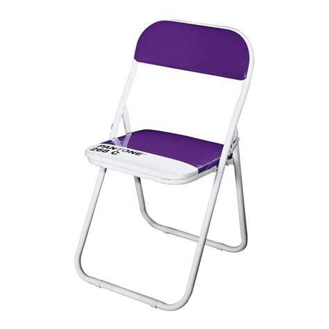 pantone sedie sedia pieghevole imbottita in acciaio di vari colori