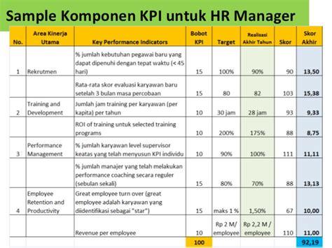 contoh laporan evaluasi kinerja karyawan contoh performance appraisal penilaian kinerja karyawan