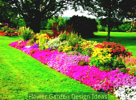 Flower Garden Layouts Flower Bed Garden Layouts Flower Bed Designs For Sun Pictures To Pin On Pinterest