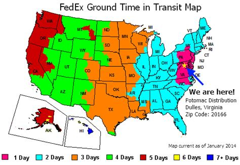 fedex time in transit map fedex ground map quotes