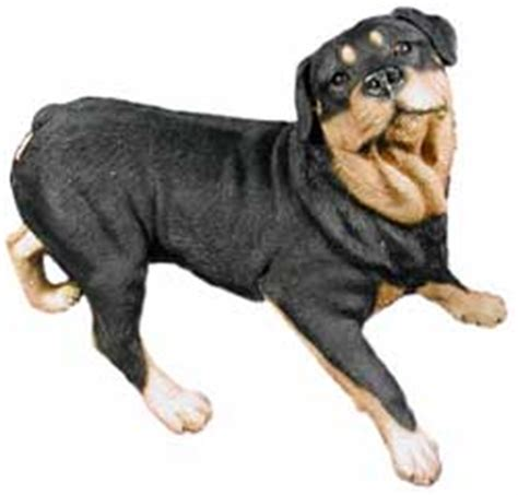 rottweiler statues rottweiler gifts figurines sculptures statues