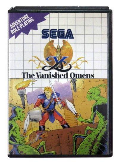 Vanesh Ys buy ys the vanished omens master system australia