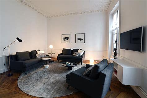 Deco Appartement Haussmannien by D 233 Coration D Int 233 Rieur Appartement Haussmannien 110m2