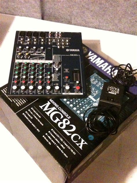 Terbaru Mixer Yamaha Mg82cx yamaha mg82cx image 578521 audiofanzine