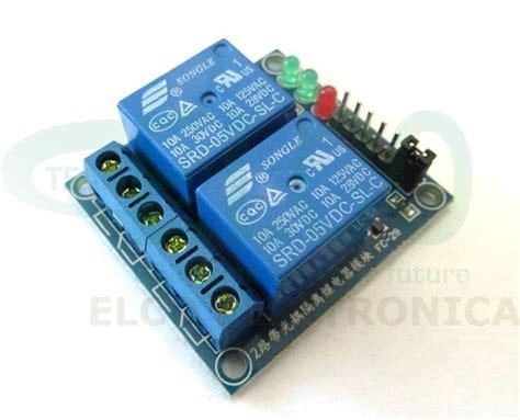 alimentatore per arduino shield per arduino con 2 rel 232 elettromeccanici bobina 5v