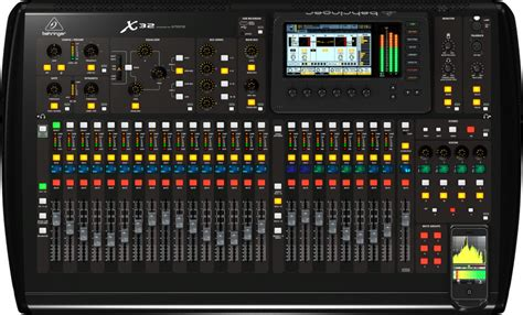 Mixer Behringer X32 behringer x32 32 channel digital mixer console compass