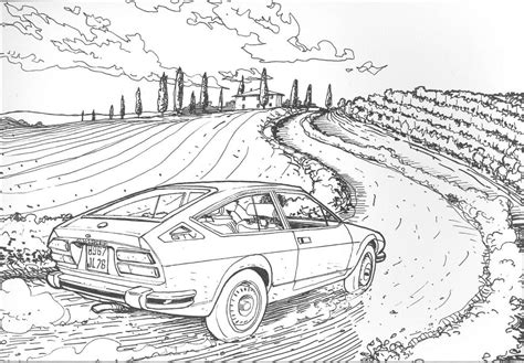 Colour Your Classic Car The Coloring Book You Want Classic Designs Coloring Book