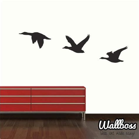 duck wall stickers flying ducks wall stickers by wallboss wallboss wall stickers wall stickers uk wall