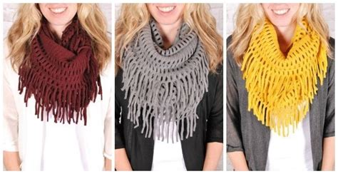 7 Scarf Styles For Fall by Fall Fringe Scarves 7 Colors