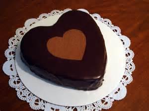 kuchen herz urdu food diaries chocolate cake