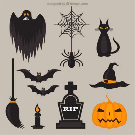 simbolos o imagenes de halloween 201 l 233 ments d halloween t 233 l 233 charger des vecteurs gratuitement