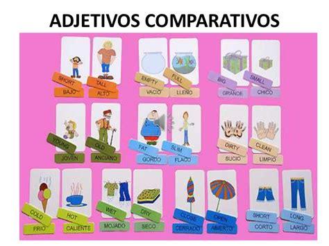 imagenes de ingles adjetivos comparatives and superlatives in english