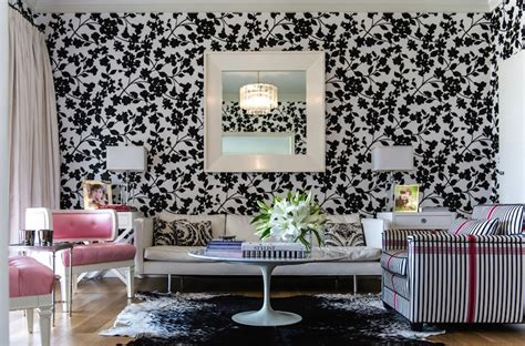 black wallpaper room designs black and white living room eclectic living room