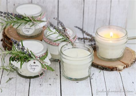 How To Make Handmade Candles - handmade gifts how to make diy soy candles finding home
