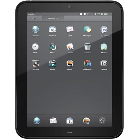 hp touchpad now available for pre order