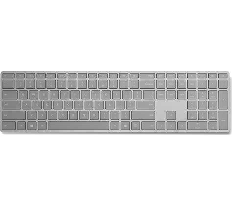 Keyboard Pc Wireless microsoft surface wireless keyboard grey deals pc world