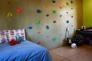 modern homes featuring a rock climbing wall