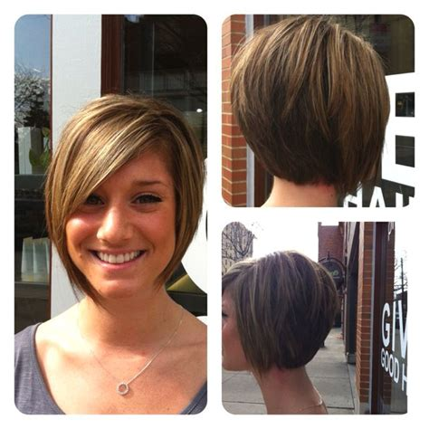 how to cut a asymmetrical bob on yourself check out lauren s asymmetrical bob i cut to keep bob