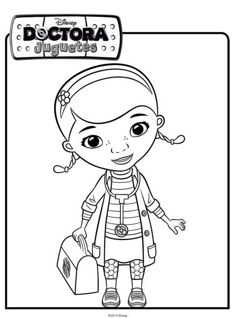 Imagenes Para Colorear La Doctora Juguetes | dibujo de la doctora juguetes dibujos de disney para colorear