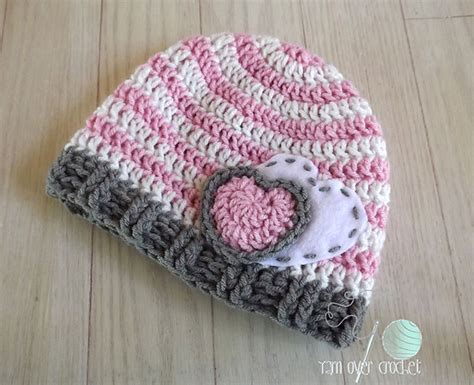 heart hat pattern crochet patterns galore hearts and stripes forever hat