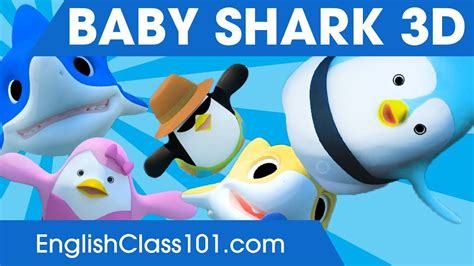 baby shark youtube learning station baby shark 3d animal songs songs for learning english