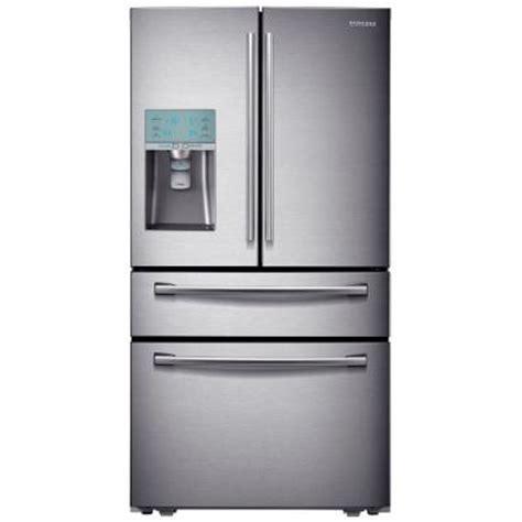 samsung door refrigerator home depot samsung 29 1 cu ft 4 door door refrigerator in