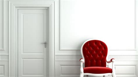 chair white room hd wallpaper high quality