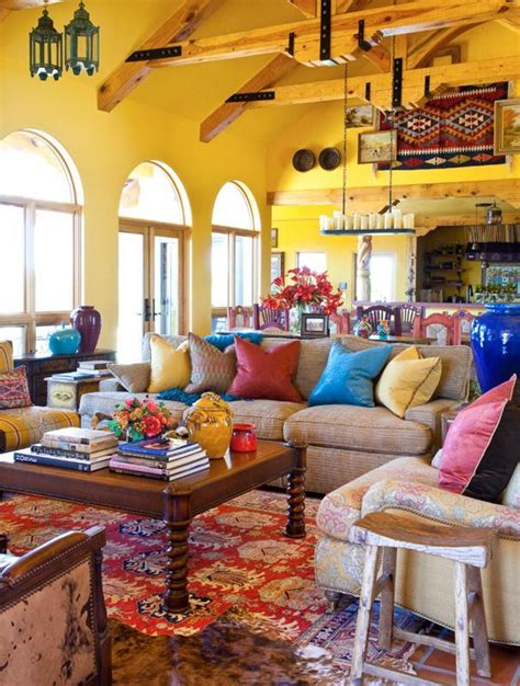 colorful living room decor 28 alluring contemporary mexican interior design ideas