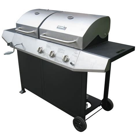 backyard grill gas charcoal combination grill nexgrill 720 0718b charcoal gas combo sears outlet