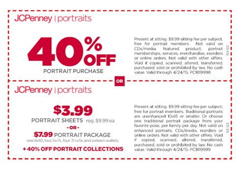 jcpenney printable coupons photo studio jc penny portrait studio coupons 2017 2018 best cars