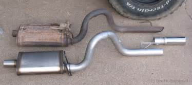 Jeep Yj Exhaust System Replacement Uk蛯ad Wydechowy Wykop Pl