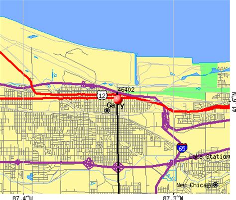 map of gary indiana 46402 zip code gary indiana profile homes apartments