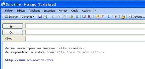 message absence du bureau modele message d absence du bureau document