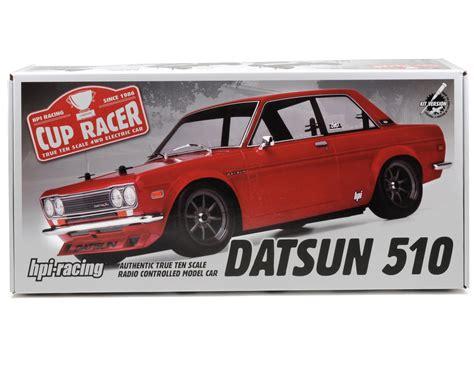 Hpi Racing Cup Racer 1m Datsun 510 87185 Deck Frp 2 0mm Genu hpi cup racer 1m kit w datsun 510 hpi100595 cars trucks amain hobbies