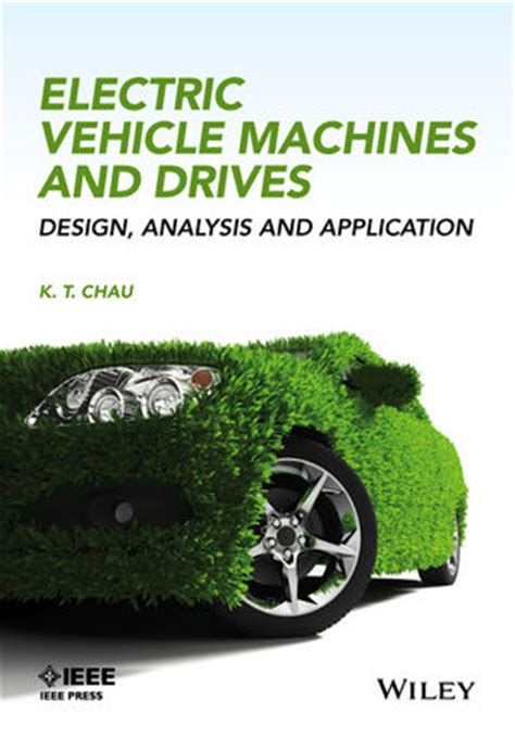 wiley electric vehicle machines and drives design