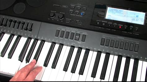tutorial for casio keyboard casio ctk 7000 wk 7500 pattern sequencing tutorial youtube