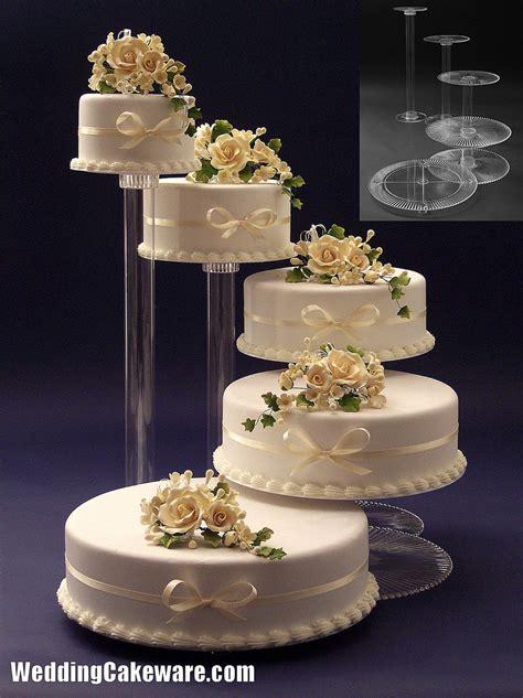 Wedding Cake Stands by Tier Walmart Wedding Cake Ideas And Designs